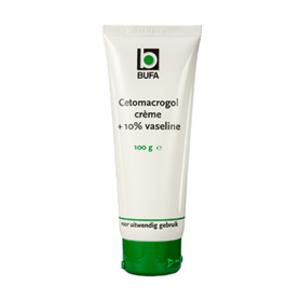 Bufa - Spruyt hillen Bufa Cetomacrogolcrème Met 10% Vaseline Tube In Doos (100g)