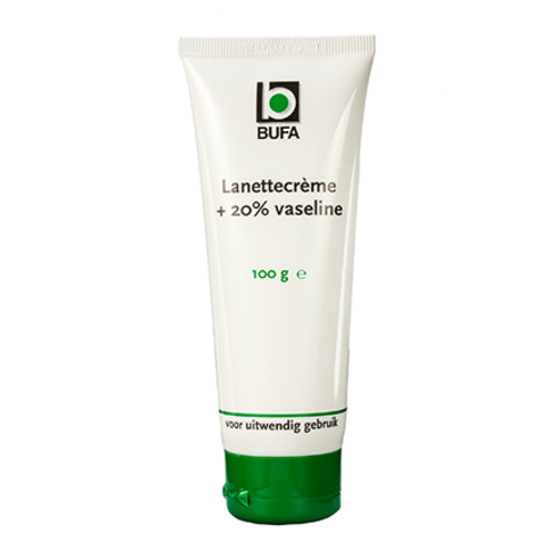 Bufa - Spruyt hillen Bufa Lanettecrème Met 20% Vaseline (100g)