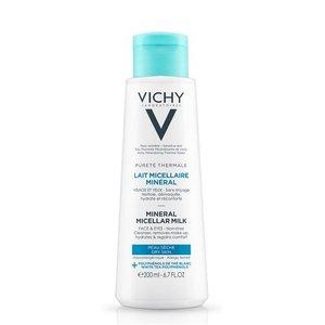 Vichy Vichy Pureté Thermale Micellaire Reinigingsmelk Droge Huid (200ml)