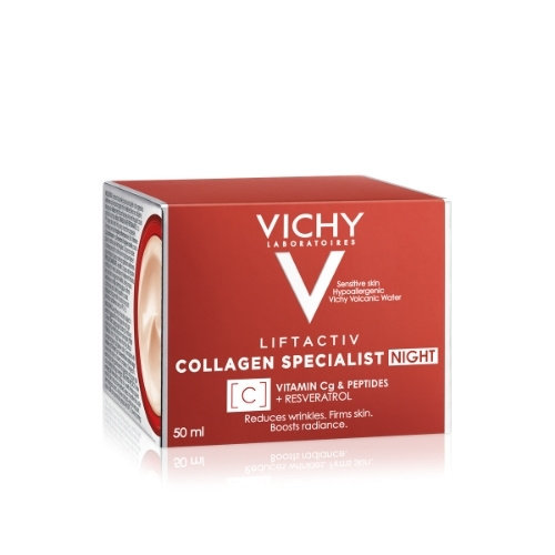 Vichy Vichy Liftactiv Collageen Specialist Nachtcrème (50ml)