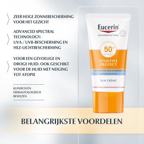 Eucerin Eucerin Sun Sensitive Protect Crème SPF 50+ (50ml)