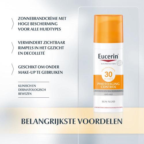 Eucerin Eucerin Sun Photoaging Control Fluid SPF 30 (50ml)