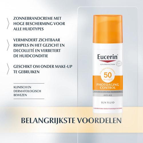 Eucerin Eucerin Sun Photoaging Control Fluid SPF 50 (50ml)
