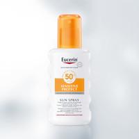 Eucerin Sun  Sensitive Protect Spray Parfumvrij SPF 50+ (200ml)