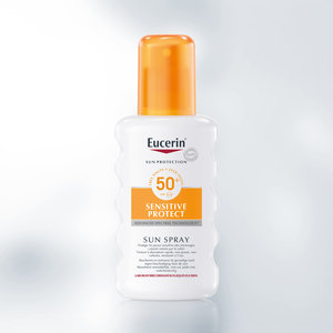 Eucerin Eucerin Sun  Sensitive Protect Spray Parfumvrij SPF 50+ (200ml)
