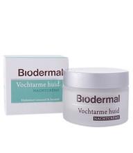 Biodermal Nachtcrème vochtarme huid (50ml)