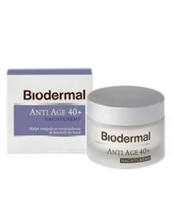 Biodermal Nachtcrème anti age 40+ (50ml)