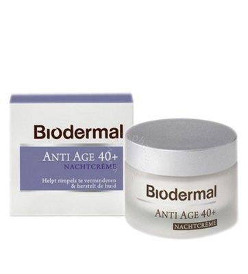 Biodermal Nachtcrème anti age 40+ (50ml)