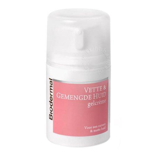 Gelcrème vette en gemengde huid (50ml)