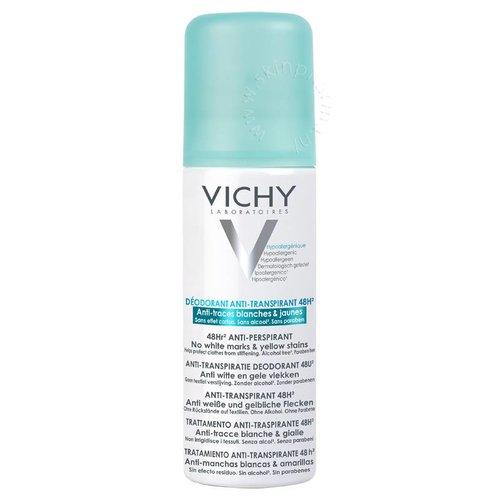 Vichy Vichy Deodorant Anti-transpirant spray 48 uur anti gele/witte vlekken (50ml)