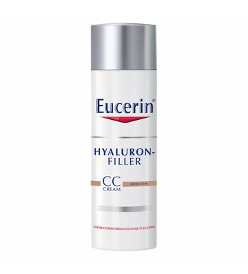 Eucerin Hyaluron Filler CC Cream Medium (50ml)