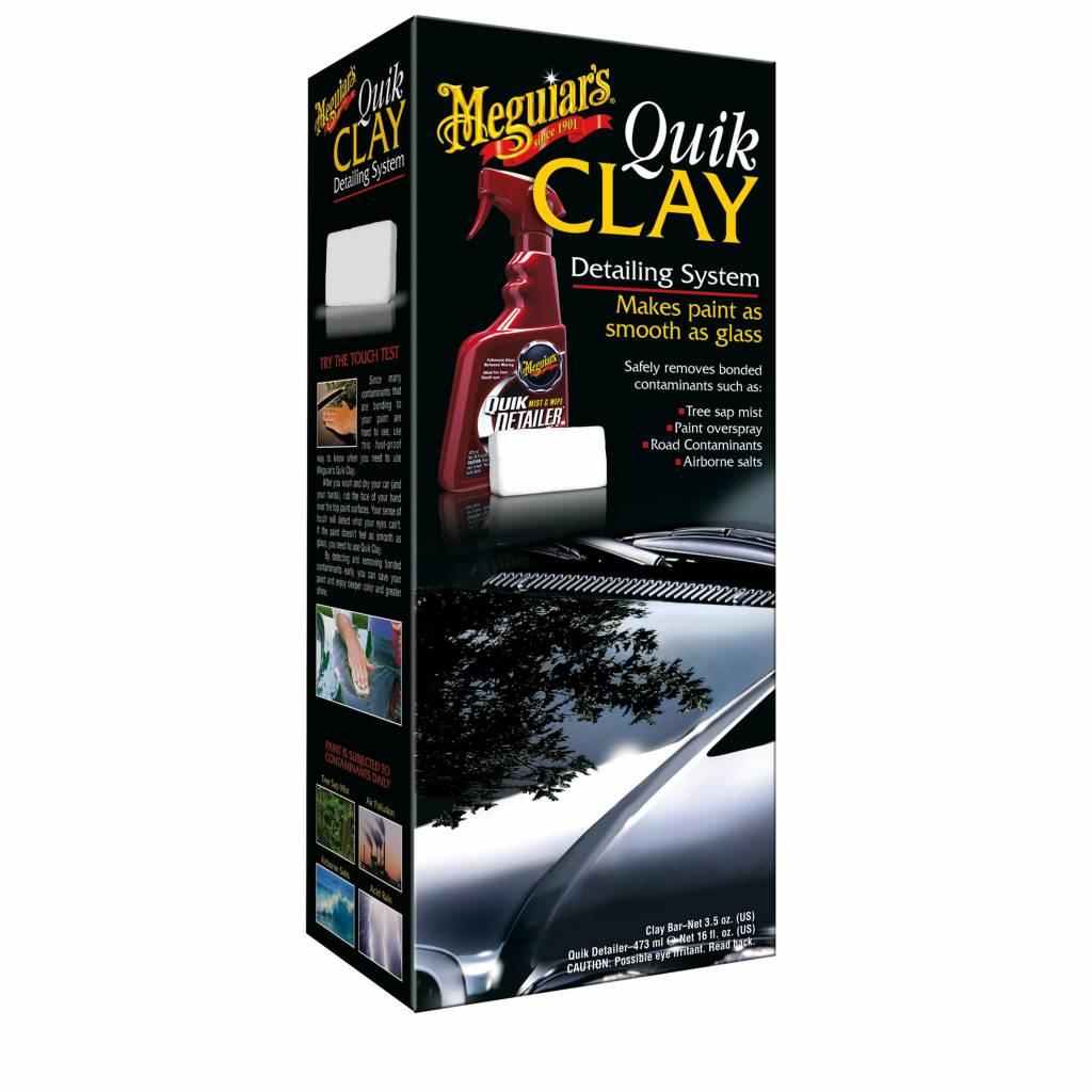 Meguiars Meguiar's Quik Clay Detailing System Starter Kit