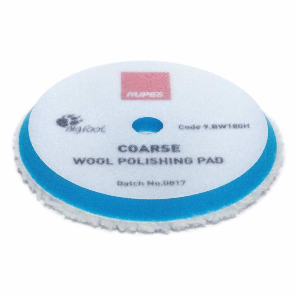 Rupes Wool Polishing Pad Coarse 180mm
