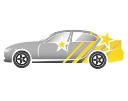 Pflege folierte Fahrzeuge