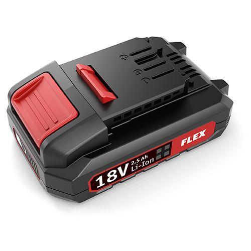 Flex Tools Akku-Pack Li-Ion 18,0 V 2,5 Ah