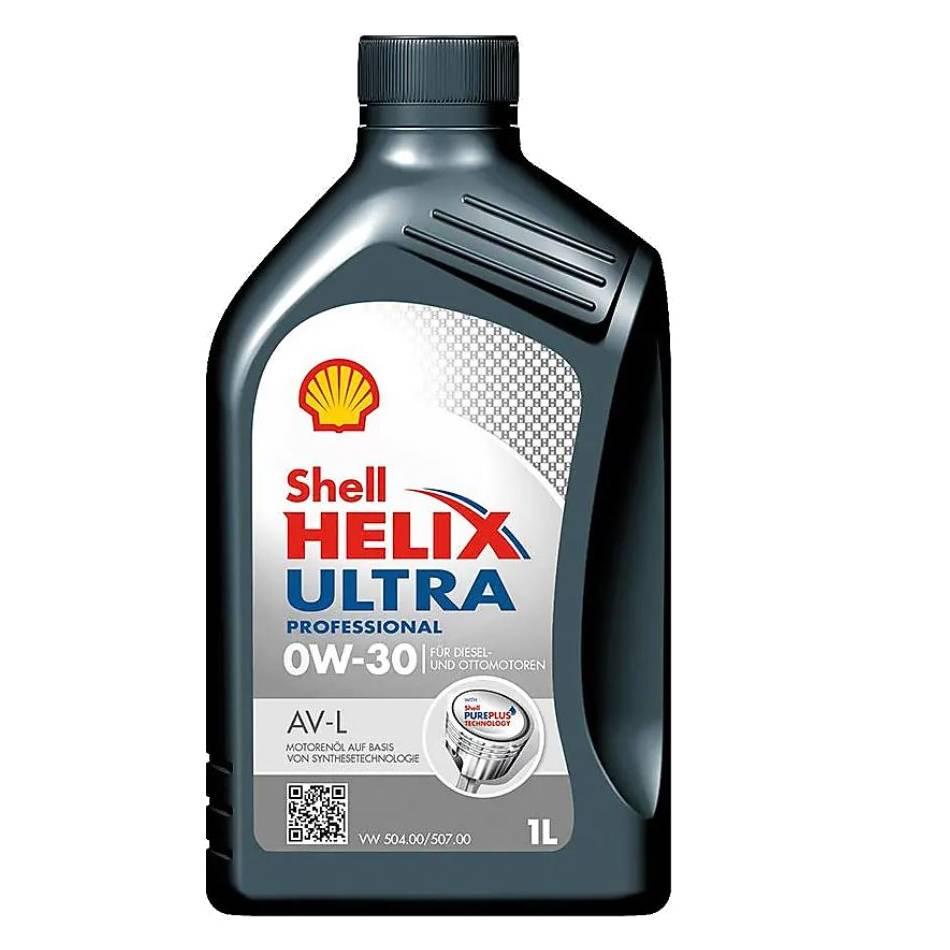 Shell Helix Ultra Professional AV-L 0W-30, 1L