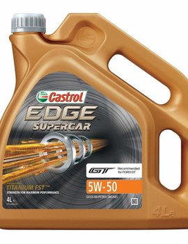 Castrol  EDGE Supercar 5W-50, 4L