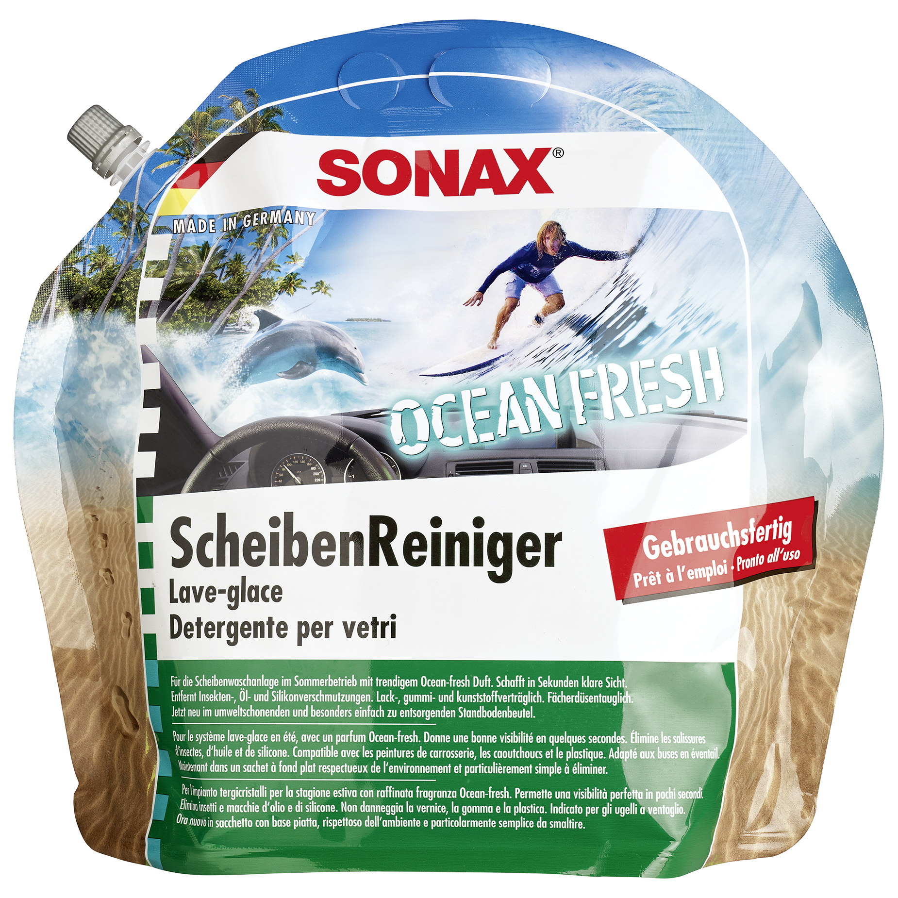 Sonax Sonax ScheibenReiniger Ocean-fresh 3L