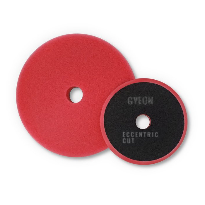 Gyeon Gyeon Q2M Eccentric Cutting Pads red 145mm