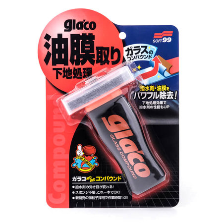 Soft99 Soft99 Glaco Glass Compound Roll On