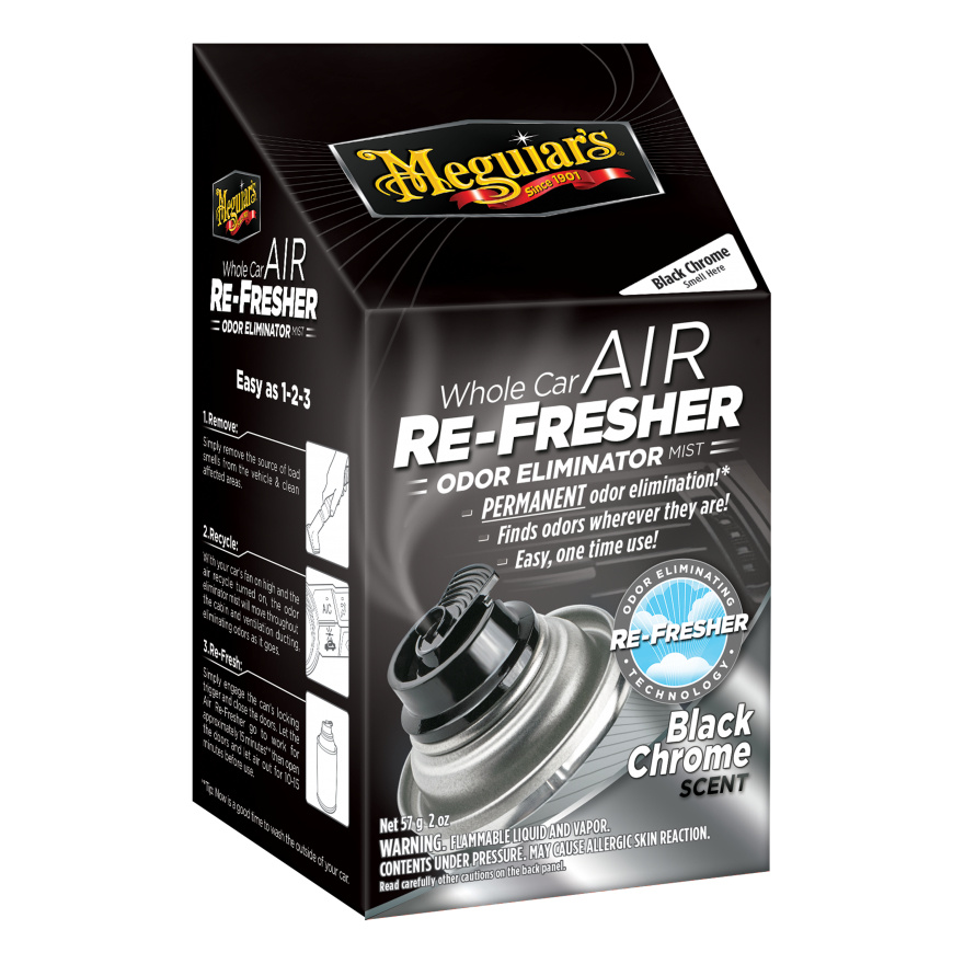 Meguiars Meguiar's Air Re-Fresher Black Chrome