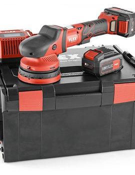 Flex Tools XCE 8 125  Akku-Exzenterpolierer mit Zwangsantrieb