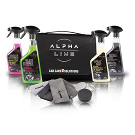ALPHA LINE ULTIMATE CAR CARE SET