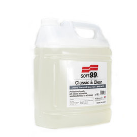 Soft99 Classic & Clear Shampoo 5l