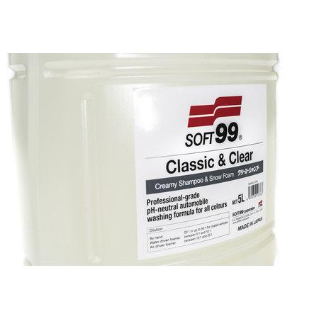 Soft99 Soft99  Classic & Clear Shampoo 5l