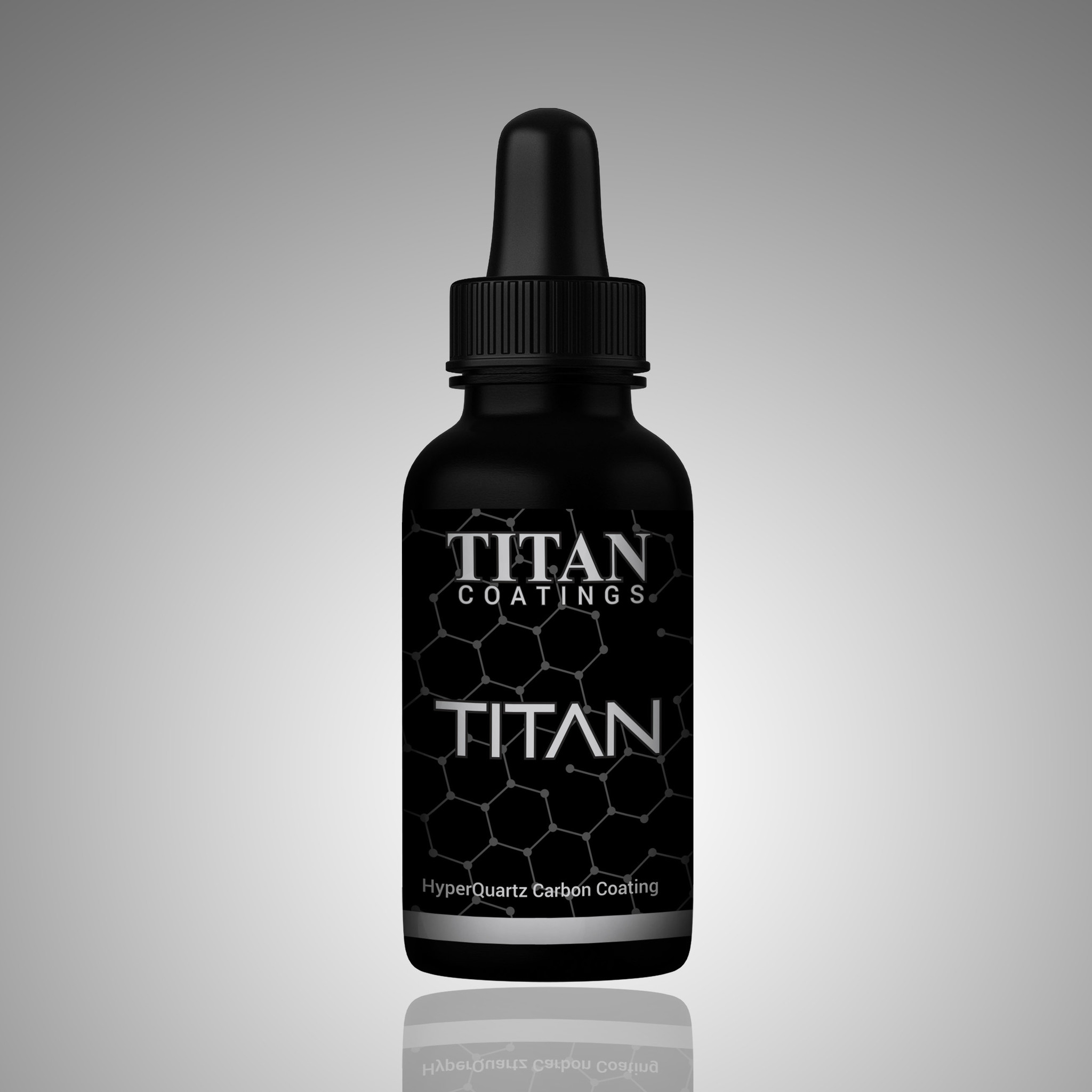 Titan Coatings UK TITAN - Hyper Quartz Carbon Glasscoat Coating 50ml