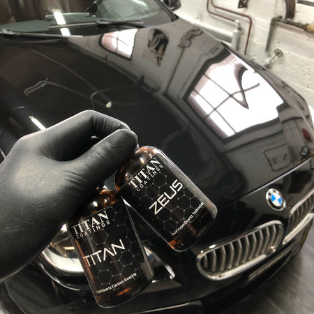 Titan Coatings UK ZEUS Elite HyperQuartz Carbon Glasscoat Coating 60ml