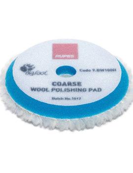 Rupes Wool Polishing Pad Coarse 100mm