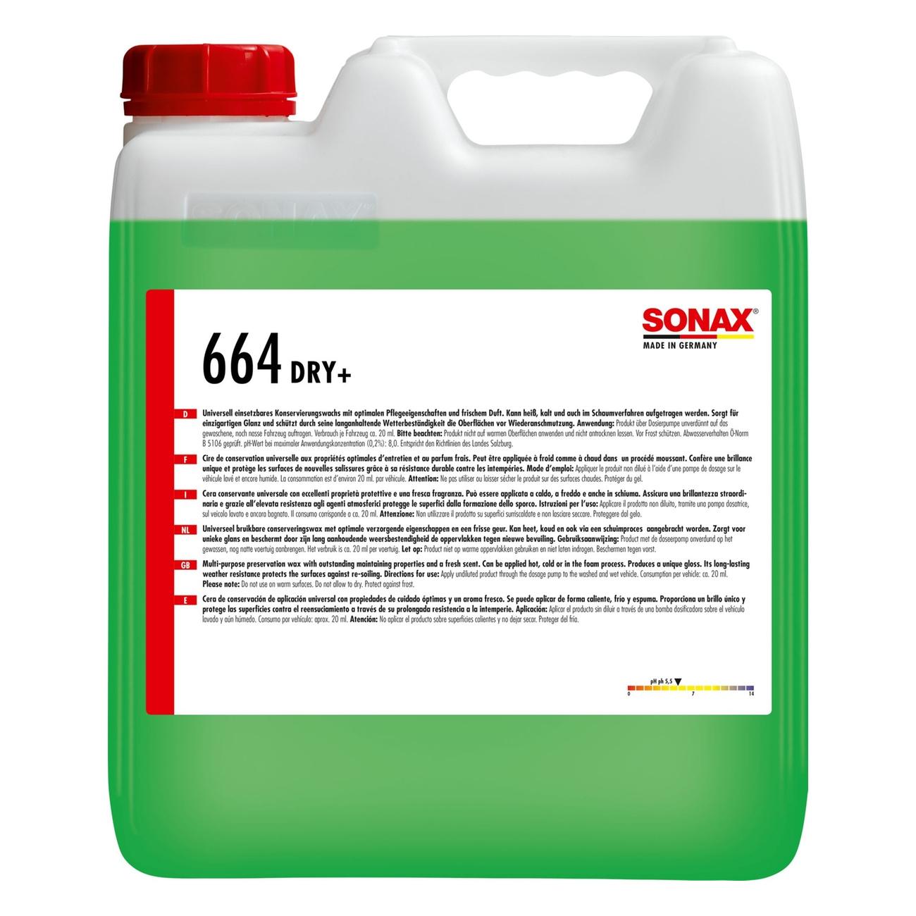 Sonax PROFILINE Sonax Dry+  GlanzTrockner 10l