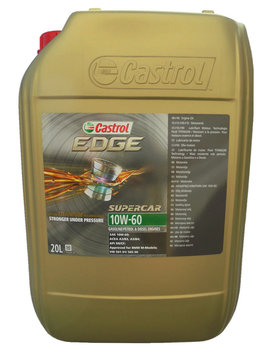 Castrol  EDGE 10W-60 Supercar 20L