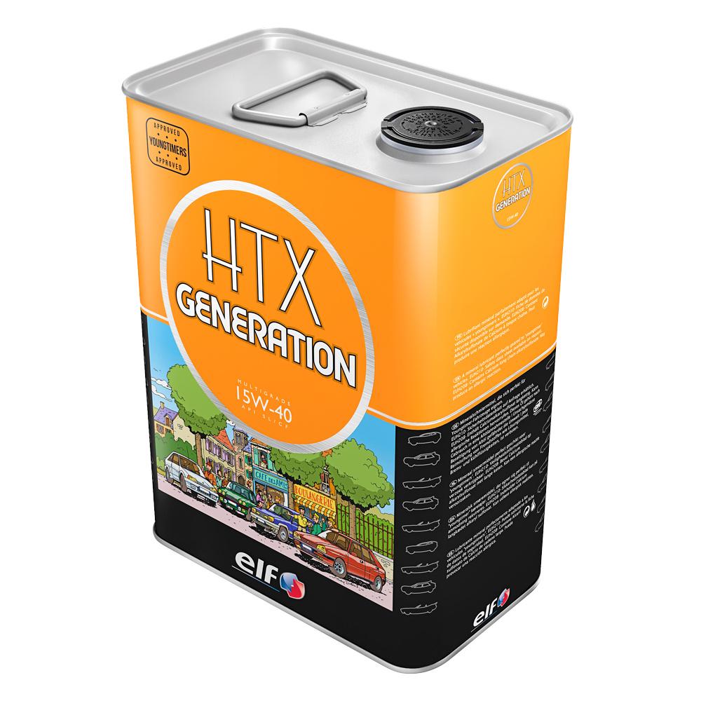 ELF HTX Generation 15W-40