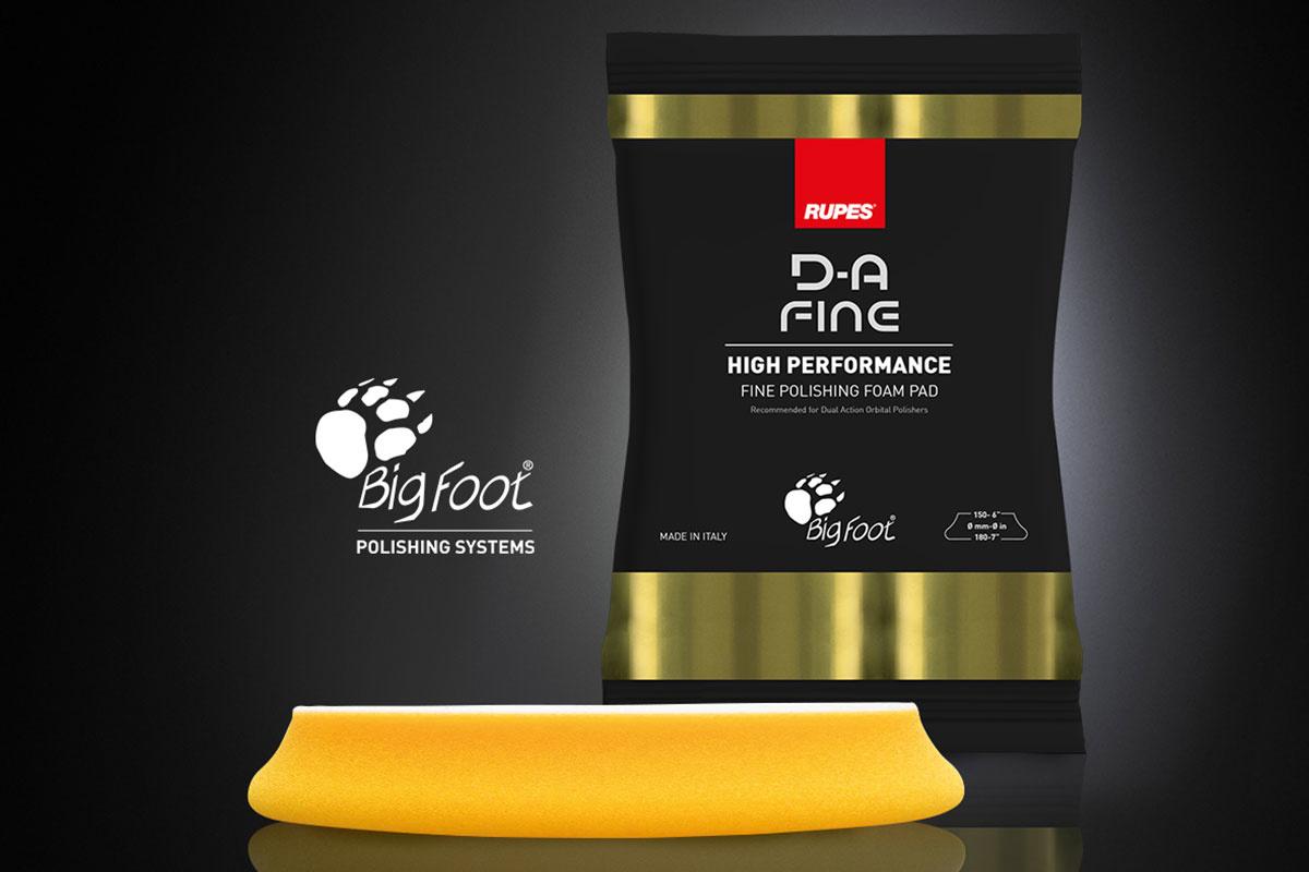 Rupes RUPES D-A Fine Foam Pad gelb 150mm