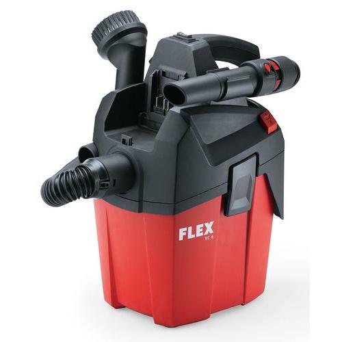 Flex Tools Flex VC 6 L MC 18.0 Kompakt Sauger mit manueller Filterabreinigung