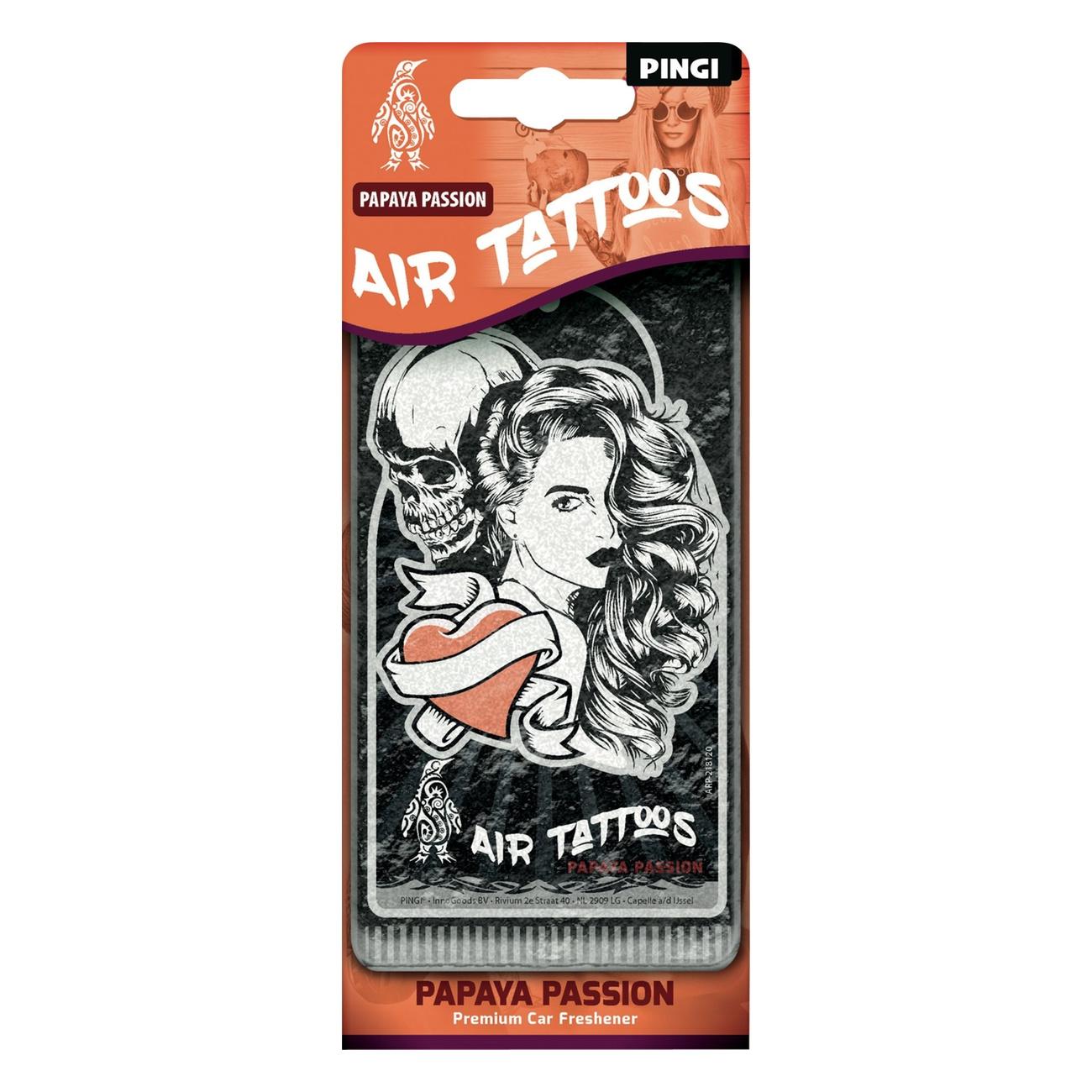 PINGI Air Tattoos, Papaya Passion