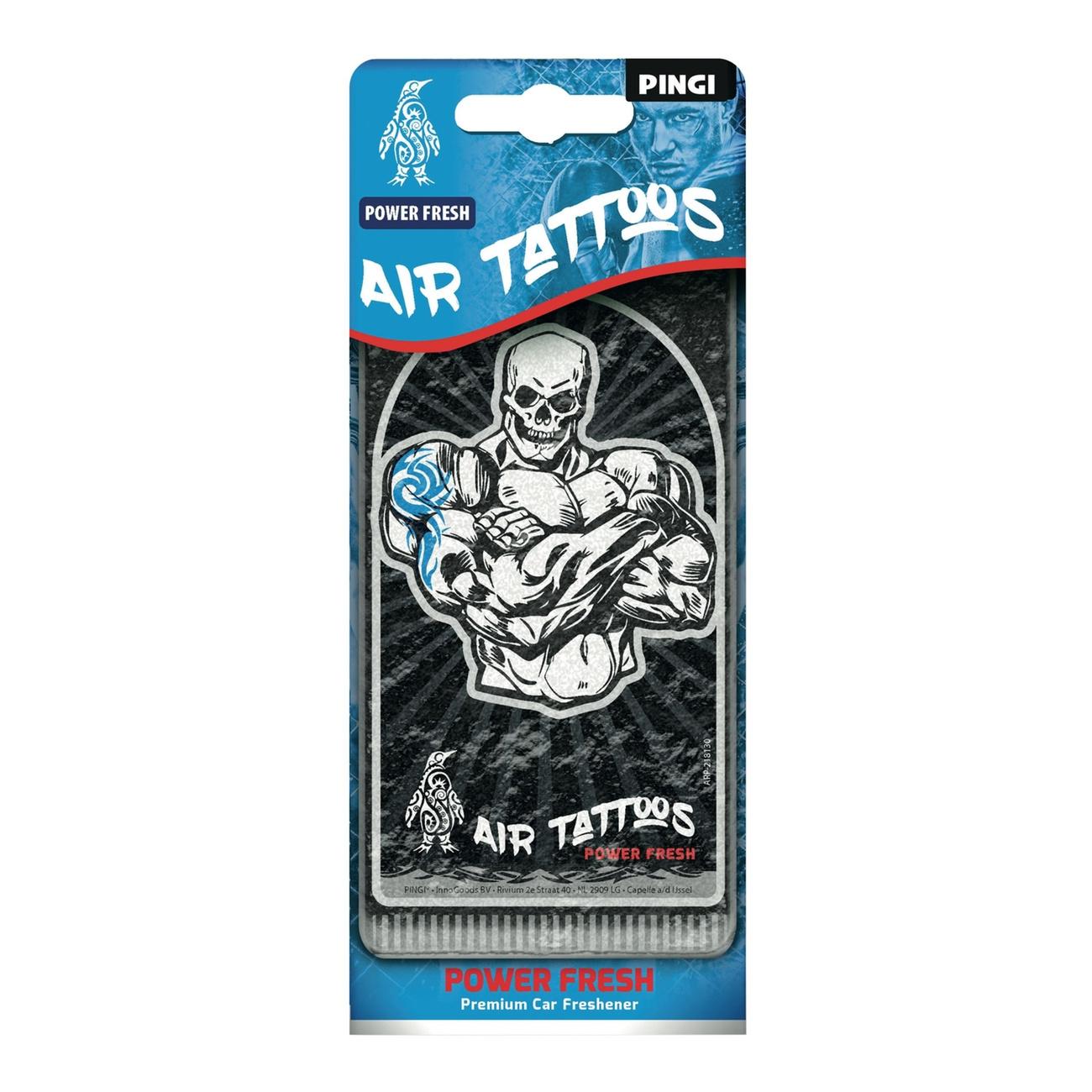 PINGI Air Tattoos, Power Fresh