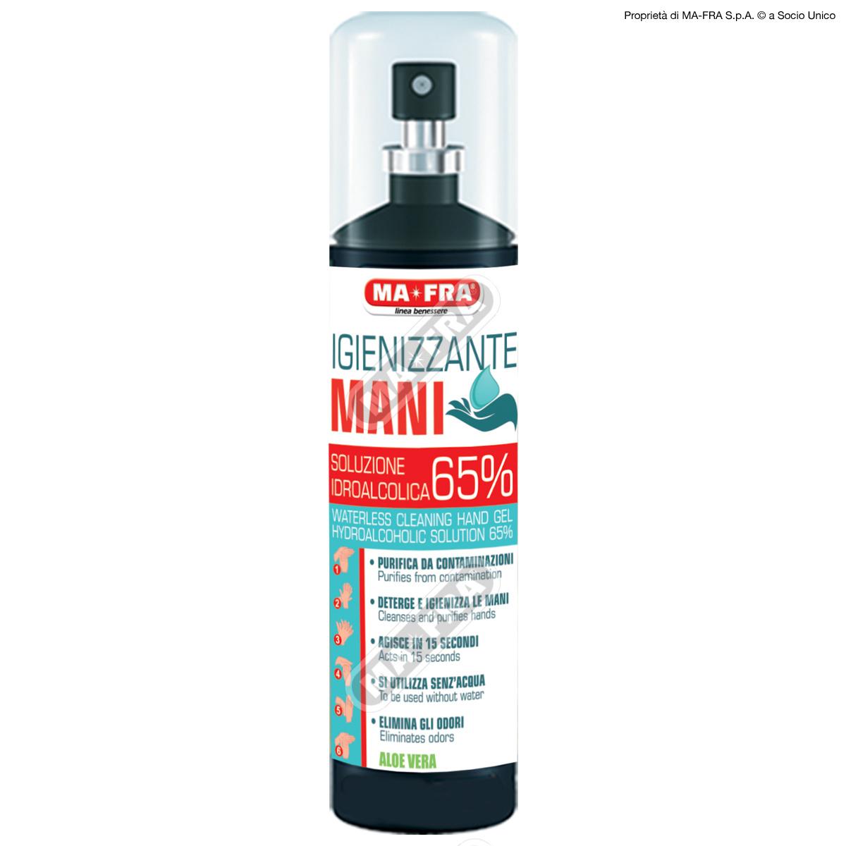 Labocosmetica  Ma-Fra Hand-Desinfektionsmittel Gel Spray 125ml
