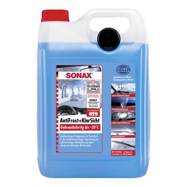 Sonax Sonax Antifrost + Klarsicht gebrauchsfertig bis -20°C, 5 Liter