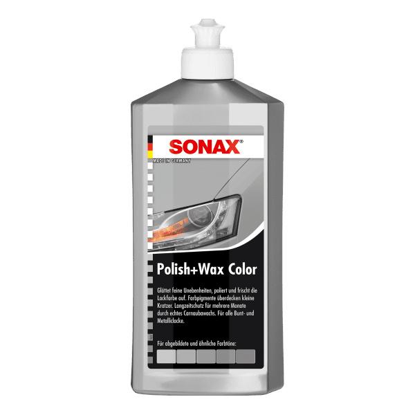 Sonax Sonax Polish & Wax Color NanoPro silber/grau