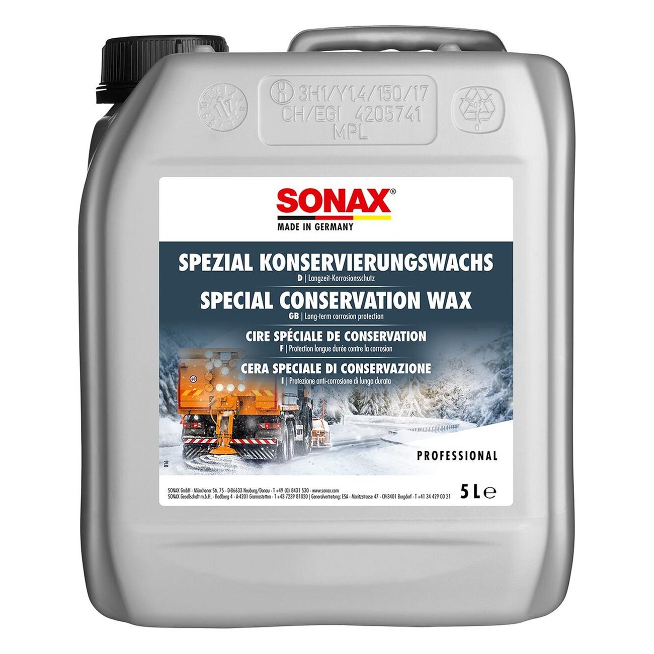 Sonax PROFILINE Sonax SpezialKonservierungs-Wachs 5L