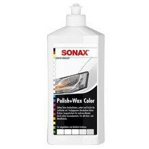 Sonax Polish & Wax Color NanoPro weiss