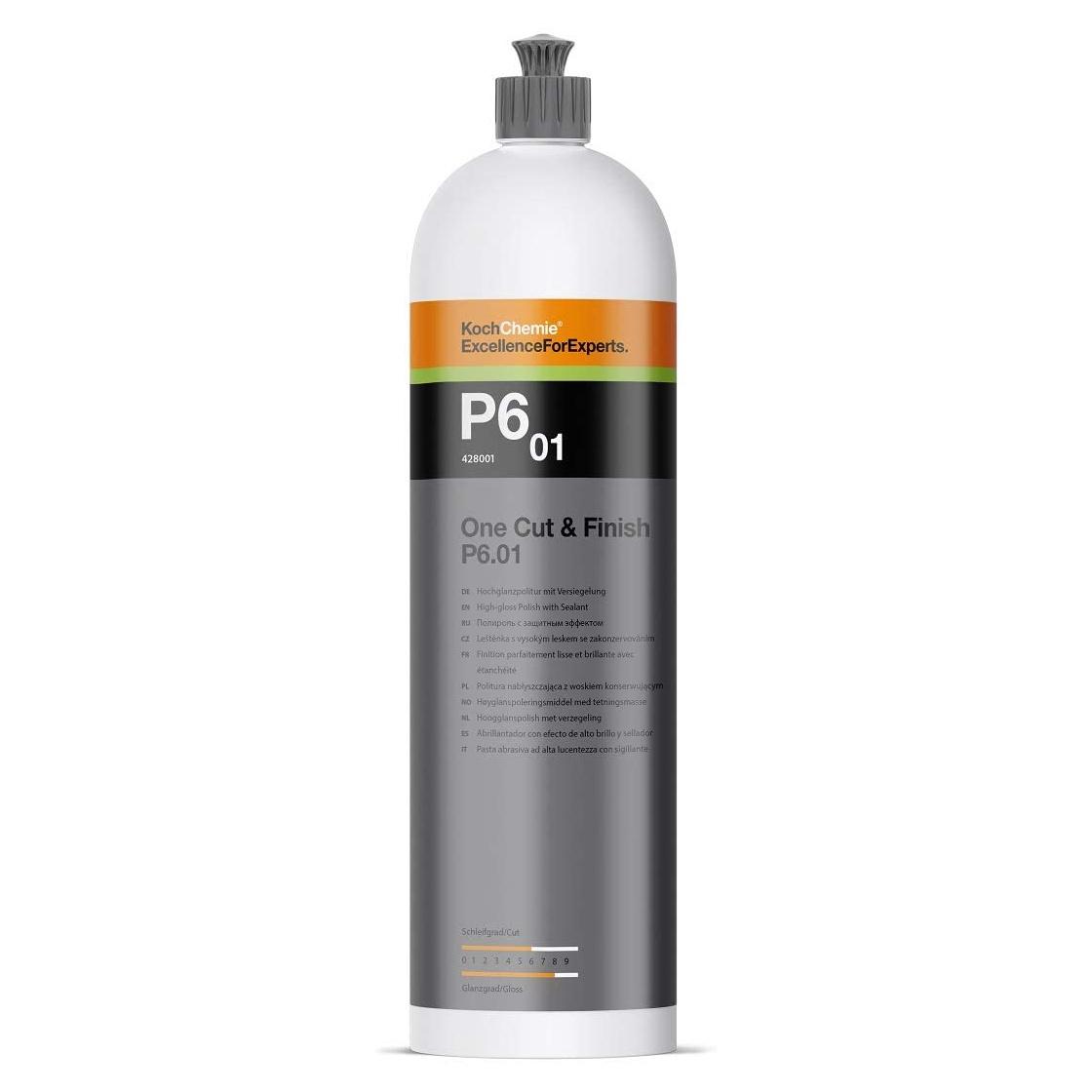 Koch Chemie Koch Chemie P6.01 One Cut & Finish 1000ml - Hochglanzpolitur mit Versiegelung