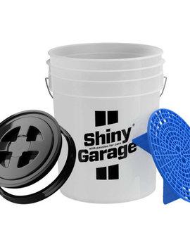 Shiny Garage Wascheimer Schmutzsieb und Deckel 20L