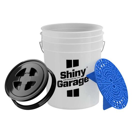 Shiny Garage Shiny Garage Wascheimer Schmutzsieb und Deckel 20L