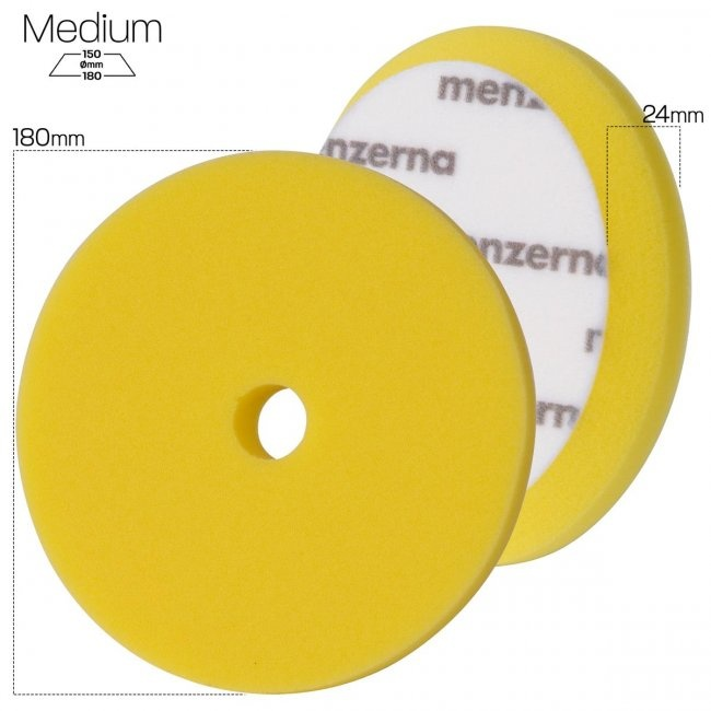 Menzerna Menzerna Medium Cut Foam Pad 180mm