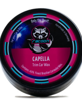 Racoon Cleaning  CAPELLA Trim Car Wax
