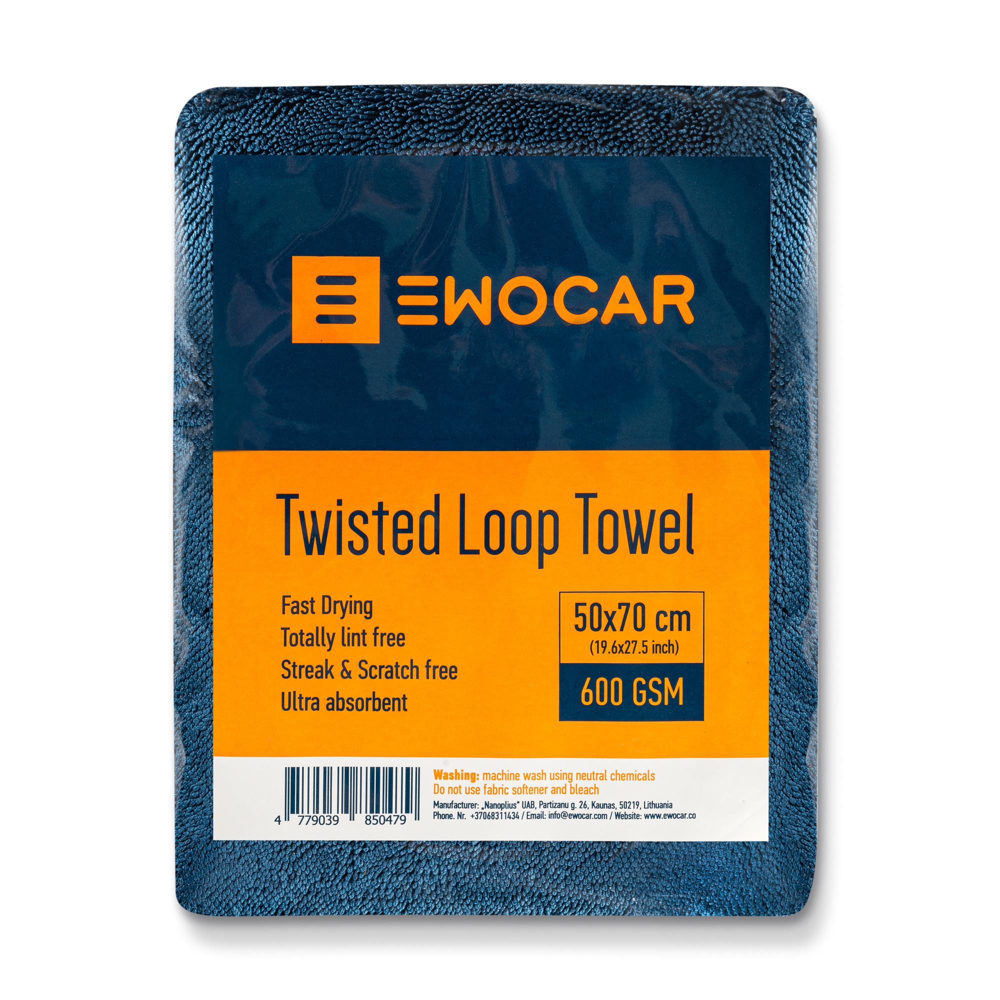 Ewocar Ewocar Twisted Loop Towel 50x70cm
